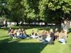 Stadtrundgang Karlsruhe - Schülergruppe aus Frankfurt